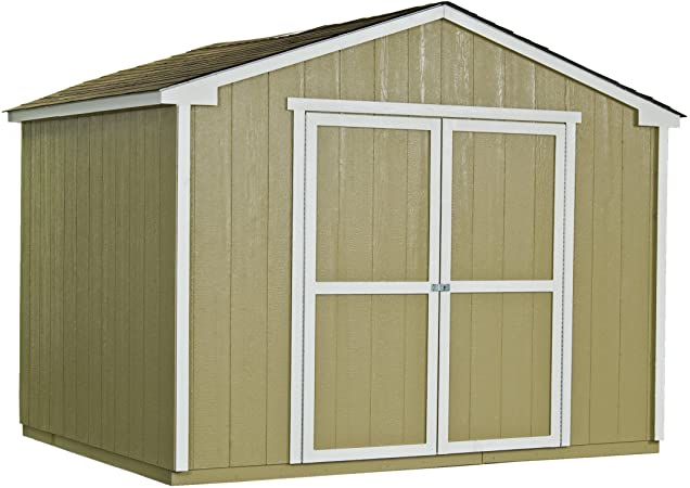 Amazon.com : Handy Home Products Cumberland Wooden Storage Shed .
