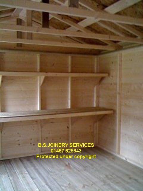 shelving for shed   shed - sheds - wooden sheds - garden sheds .