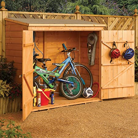 Amazon.com : Bosmere WS1881H Rowlinson Wallstore Wooden Outdoor .