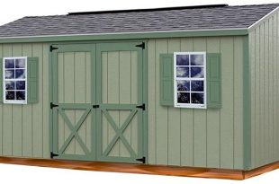 Amazon.com : Cypress 16 ft. x 10 ft. Wood Storage Shed Kit with .