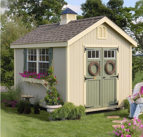 Colonial Williamsburg Wood Storage Shed – The Perfect Sh