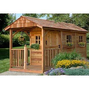 Sunset Wooden Storage Shed | Wayfa