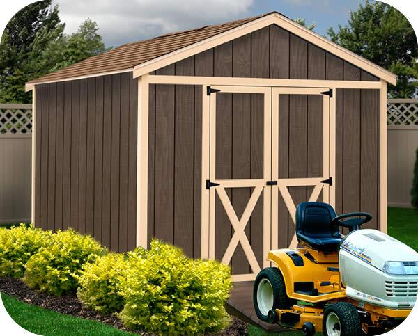 Wood Sheds - Wooden Storage Shed Ki