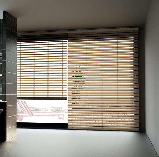 Venetian blinds - CLASSIQUES : SABLES - Stores Cube - wooden .