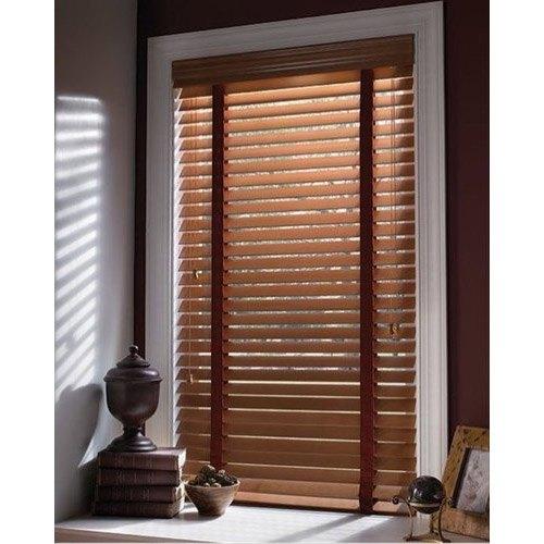 Slat Horizontal Blinds Wooden Venetian Blind, Size/Dimension: 6-8 .