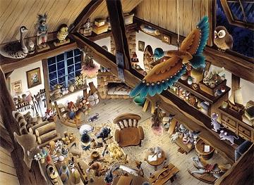 Wooden Workshop Jigsaw Puzzle | PuzzleWarehouse.c