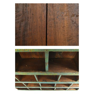 Wooden Workshop Shelf, 1940s for sale at Pamo