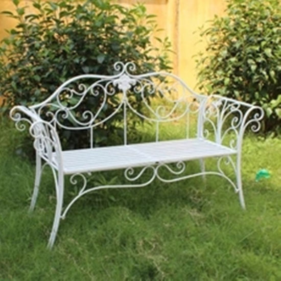 China High Quality Wrought Iron Garden Arch for Garden Furniture .