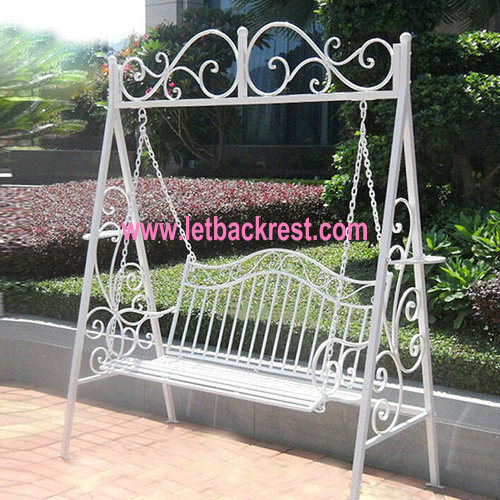 China Wholesale wrought iron garden chairs swing chair|chair hand .