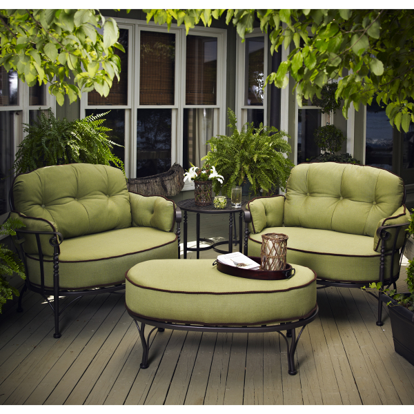 Blogs :: American-manufactured wrought iron patio furniture .