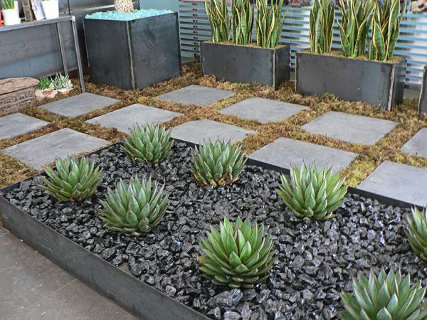 50 Modern Front Yard Designs and Ideas | Rock garden landscaping .