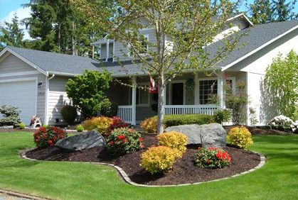 Front Yard Landscaping Secrets and Tips | Yard landscaping .