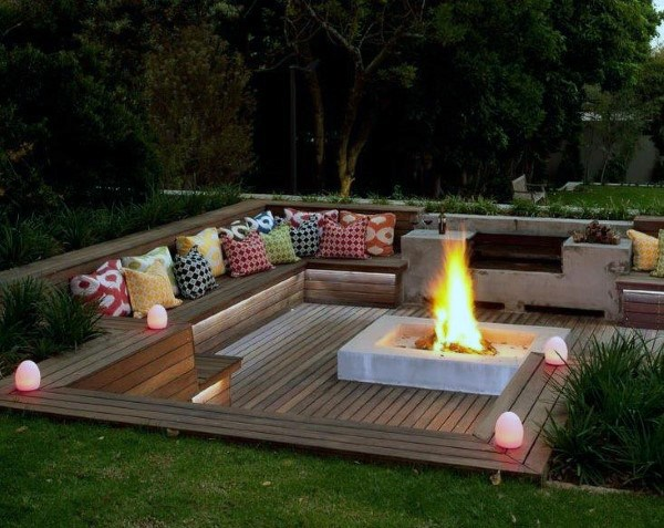Top 60 Best Cool Backyard Ideas - Outdoor Retreat Desig